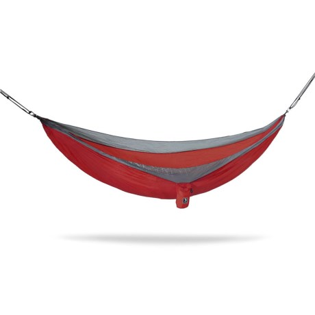Tribe Provisions Adventure Single-Person Hammock in Red