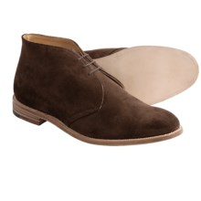 Tricker's Aldo-Style Chukka Boots (For Men) in Chocolate Suede - Closeouts