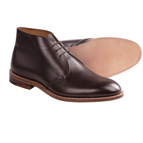 Tricker's Aldo-Style Chukka Boots (For Men) in Chocolate Suede