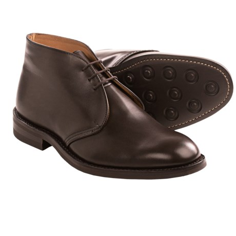 Tricker's Aldo-Style Chukka Boots (For Men) in Smooth Espresso