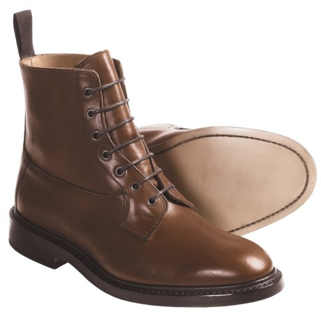 Tricker's Burford Derby Boots - Smooth Leather (For Men) in Naster Mc