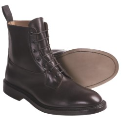 Tricker's Burford Derby Boots - Smooth Leather (For Men) in Gold Mc