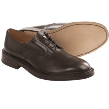 Tricker's Daniel Plain Derby Shoes - Leather (For Men) in Espresso Burnished Calf - Closeouts