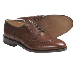 Tricker's Whitman Wingtip Shoes - Oxfords, Leather (For Men) in Beechnut