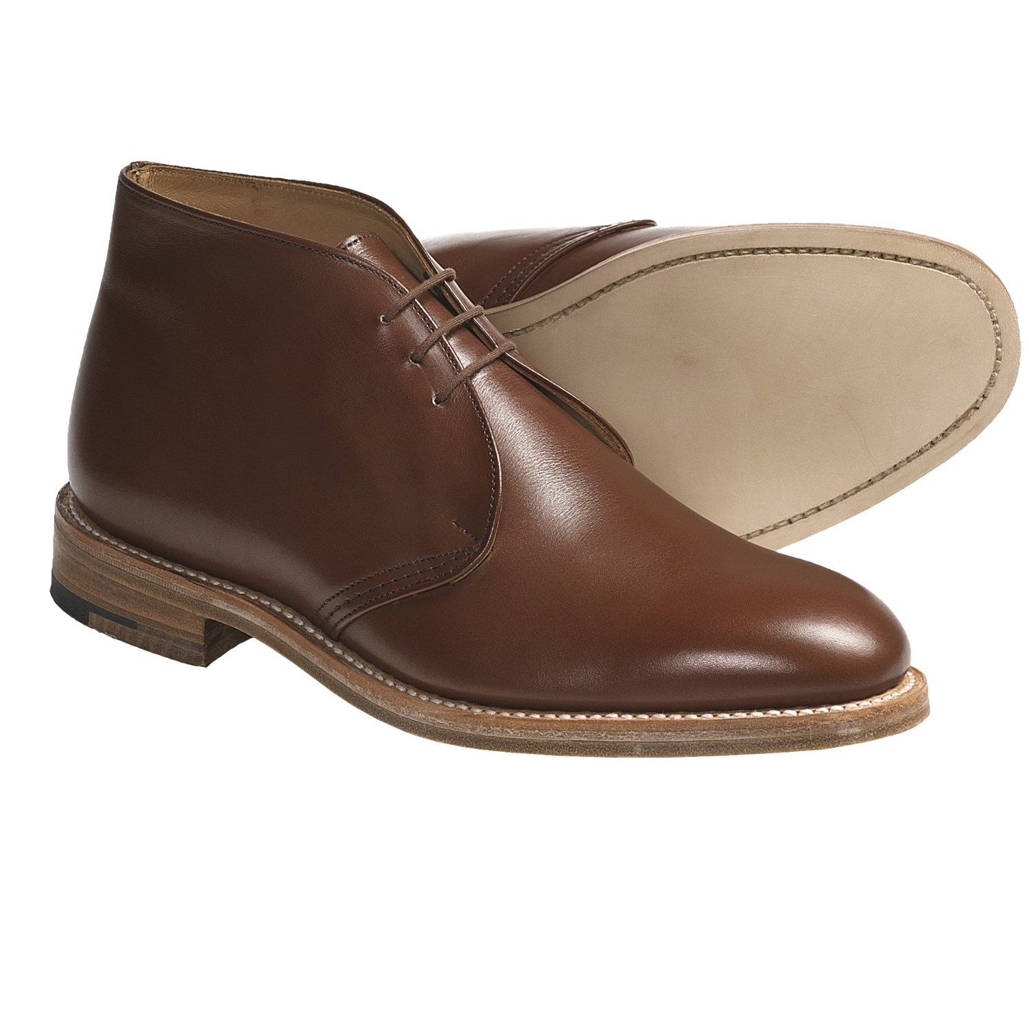 leather chukka boots for boots image