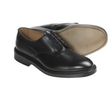 Tricker's Woodstock Shoes - Heavy Leather Soles (For Men) in Black Calf - Closeouts