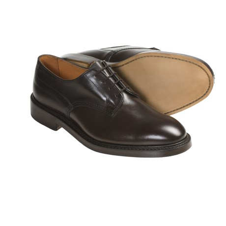 Tricker's Woodstock Shoes - Heavy Leather Soles (For Men) in Espresso Burnished Calf