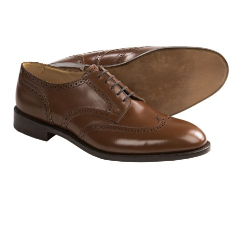 Tricker's Whitman Wingtip Shoes - Oxfords, Calf Leather (For Men) in Beechnut Antique Calf