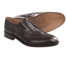 Tricker's Whitman Wingtip Shoes - Oxfords, Calf Leather (For Men) in Espresso Burnished Calf - Closeouts