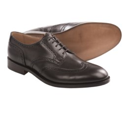 Tricker's Whitman Wingtip Shoes - Oxfords, Calf Leather (For Men) in Espresso Burnished Calf