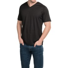 Tricots St. Raphael Birdseye Shirt - Short Sleeve (For Men) in Black - Closeouts
