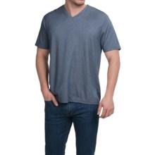 Tricots St. Raphael Birdseye Shirt - Short Sleeve (For Men) in Marine - Closeouts