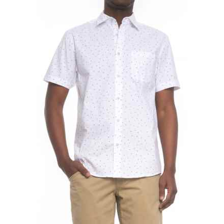 Tricots St. Raphael Printed Shirt - Short Sleeve (For Men) in White - Overstock