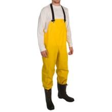 Trident Rain Bib Overalls - Waterproof (For Men) in Yellow - Closeouts