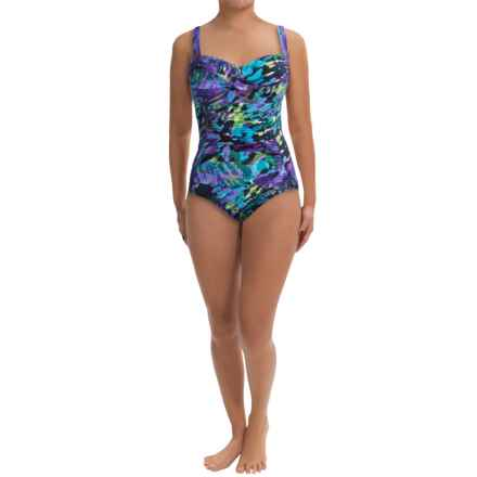 Trimshaper Averi One-Piece Swimsuit (For Women) in Painted Lady Purple - Closeouts