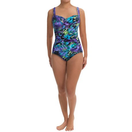 Trimshaper Averi One Piece Swimsuit (For Women)