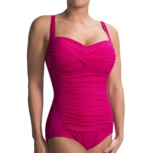 Trimshaper by Miraclesuit Averi One-Piece Swimsuit (For Women) in Fuchsia - Closeouts