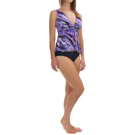 Trimshaper Katie Blizzard Tankini Top (For Women) in Purple - Closeouts