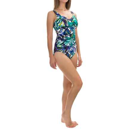 Trimshaper Layla Jungle Gem One-Piece Swimsuit (For Women) in Multi - Closeouts