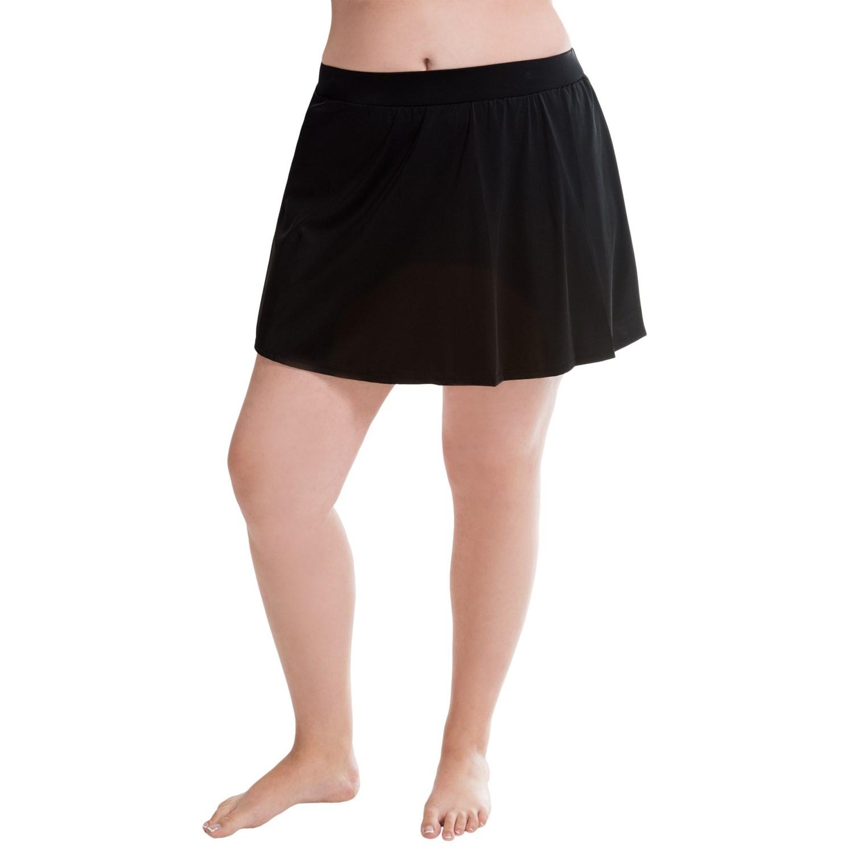 trimshaper swim skirt for plus size 9303a save 66