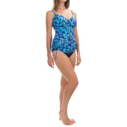 Trimshaper Wendy Distant Realms Tankini Top (For Women) in Blue - Closeouts