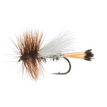 Trude Royal Coachman Dry Fly - Dozen in Natural - Closeouts