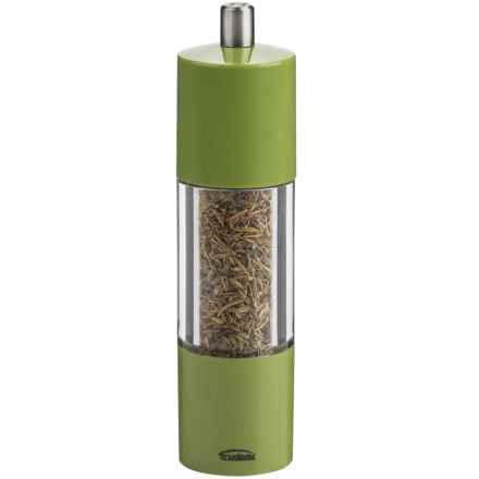 "Trudeau Adiago Herb Mill - 7.5"", Herbs de Provence in Green - Overstock"