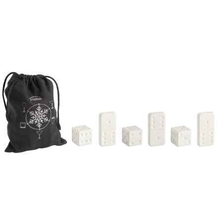 Trudeau Ceramic Dice and Domino Chills in See Photo - Overstock