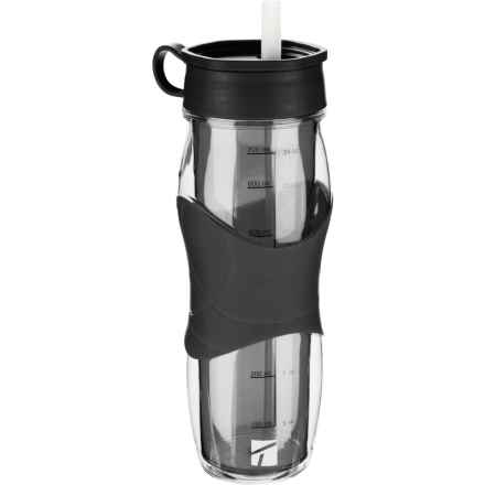 Trudeau Cool Off Water Bottle - 24 fl.oz., BPA-Free in Black - Closeouts