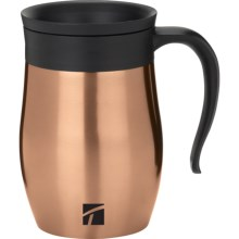 Trudeau Endure Vacuum-Insulated Desk Mug - 16 fl.oz. in Copper - Closeouts