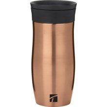 Trudeau Endure Vacuum-Insulated Travel Mug - 16 fl.oz. in Copper - Closeouts