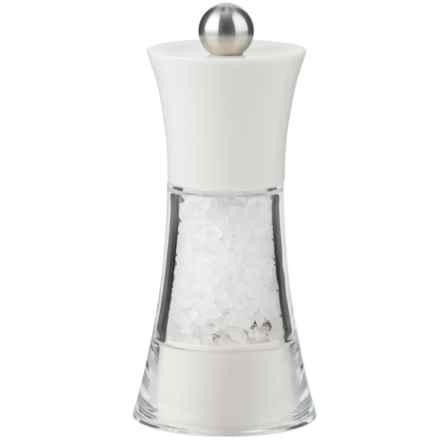 "Trudeau Fiesta Salt Mill - 5"" in White - Overstock"