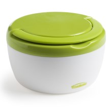 Trudeau Microwave-Safe Food Container with Handle - Insulated, 12 oz. in Green - Overstock