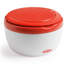 Trudeau Microwave-Safe Food Container with Handle - Insulated, 12 oz. in Orange - Overstock