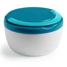 Trudeau Microwave-Safe Food Container with Handle - Insulated, 12 oz. in Teal - Overstock