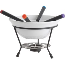 Trudeau Sundial Fondue Set - 7-Piece in See Photo - Closeouts