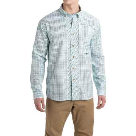 True Flies Bokeelia Check Seersucker Shirt - UPF 25+, Long Sleeve (For Men) in Seafoam - Closeouts