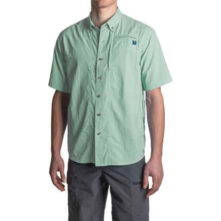 True Flies Bokeelia Nylon Shirt - UPF 30+, Short Sleeve (For Men) in Everglades - Closeouts