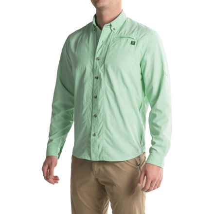 True Flies Bokeelia Shirt - UPF 30, Long Sleeve (For Men) in Everglades - Closeouts