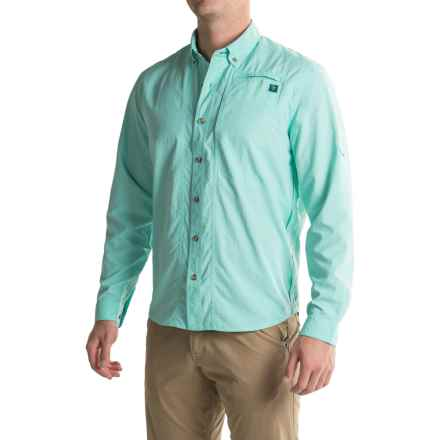 True Flies Bokeelia Shirt - UPF 30, Long Sleeve (For Men) in Seafoam - Closeouts