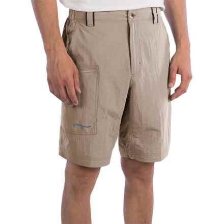 True Flies Captiva Air-Lite Shorts - UPF 30 (For Men) in Sea Oat - Closeouts