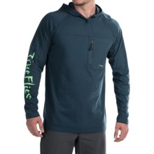 True Flies High Roller Hoodie (For Men) in Marlin - Closeouts