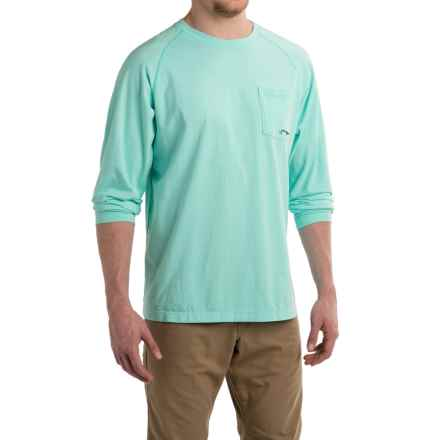True Flies Jaybo Permit Shirt - Long Sleeve (For Men) in Seafoam - Closeouts