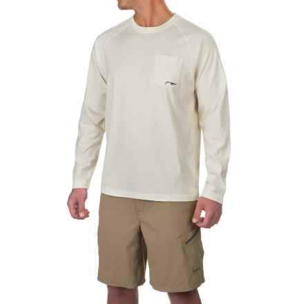True Flies LOTC Float Plane Shirt - Long Sleeve (For Men) in Salt - Closeouts
