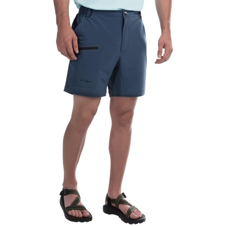 True Flies Shell Creek Sevens Shorts UPF 30 (For Men)
