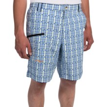 True Flies Shell Creek Shorts - UPF 30 (For Men) in Mojito/Marlin - Closeouts