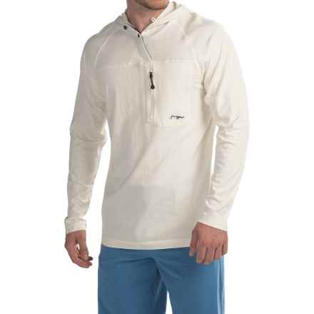 True Flies Tarpon Spool Hoodie (For Men) in Salt - Closeouts