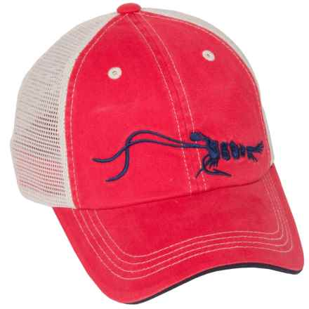 True Flies TF Trucker Hat (For Men) in Red - Closeouts