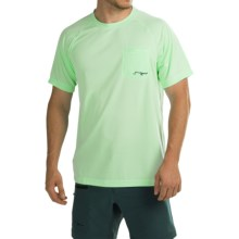 True Flies Turtle Bay II T-Shirt - UPF 30, Short Sleeve (For Men) in Key Lime - Closeouts