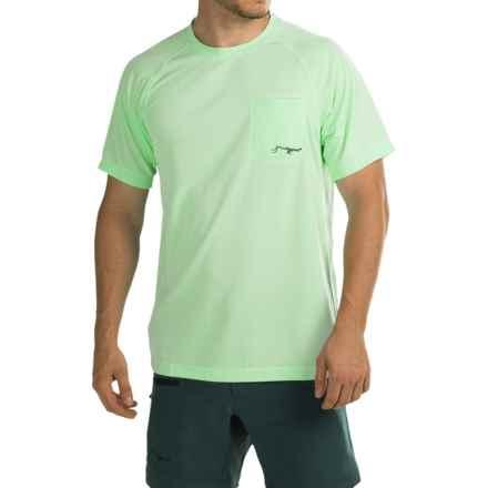 True Flies Turtle Bay II T-Shirt - UPF 30, Short Sleeve (For Men) in Key Lime - Closeouts